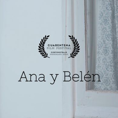 póster cortometraje Ana y Belén
